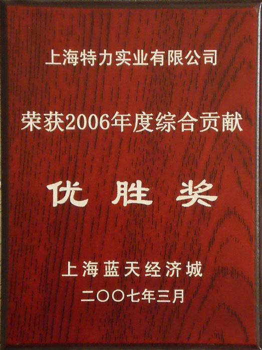 06年綜合貢獻優勝獎