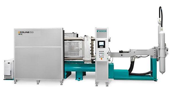 瑞士BUHLER冷室压铸机:840T1台、660T1台、340T1台