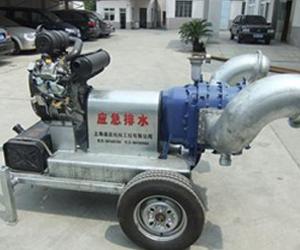 300m3/h汽油机驱动手推泵车