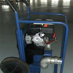 中小型汽油机驱动格米克排水泵手推车