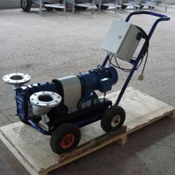 中小型电动机机驱动格米克排水泵手推车