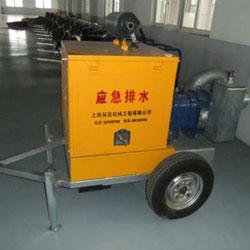 汽油机驱动格米克排水泵手推车