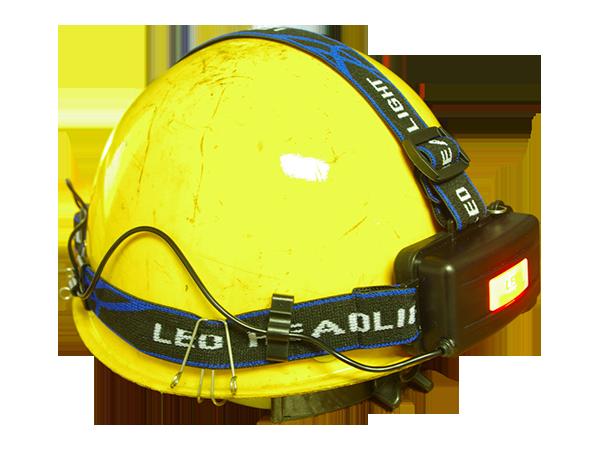 充电式帽灯KJ800伸缩头绿色