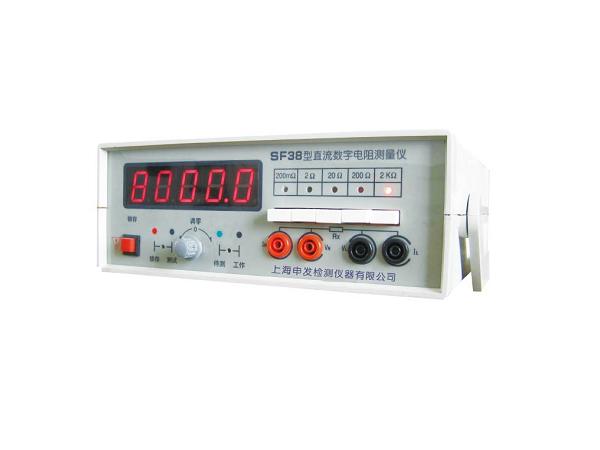 SF3B型直流数字电阻测量仪
