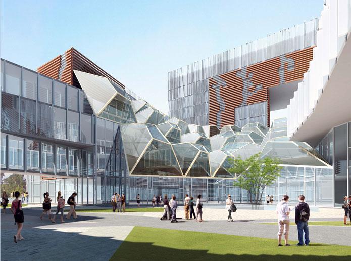复旦大学管理学院主体钢结构项目