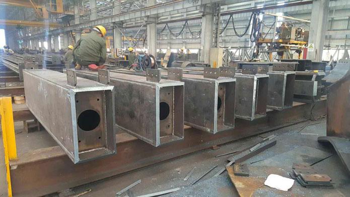 中国商飞试飞中心钢结构项目