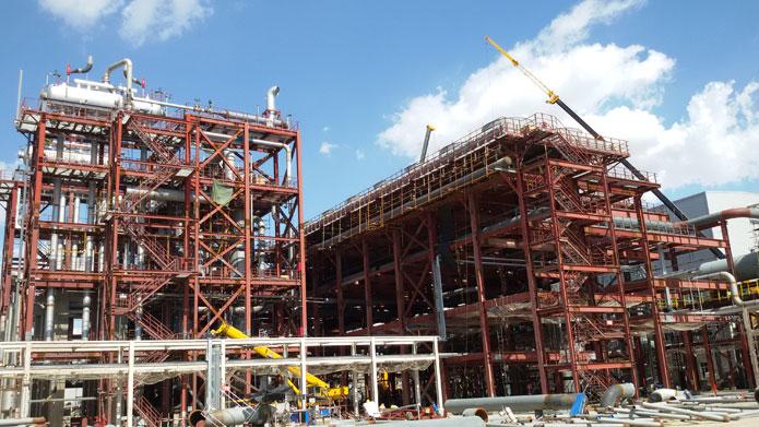 神华新疆68万吨/年煤基新材料项目甲醇合成装置