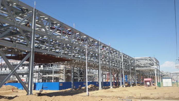 神华新疆68万吨/年煤基新材料全厂外管系统