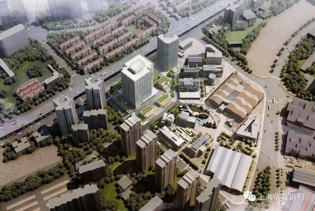 华普再次携手上海建工 中标世博会地块高层项目