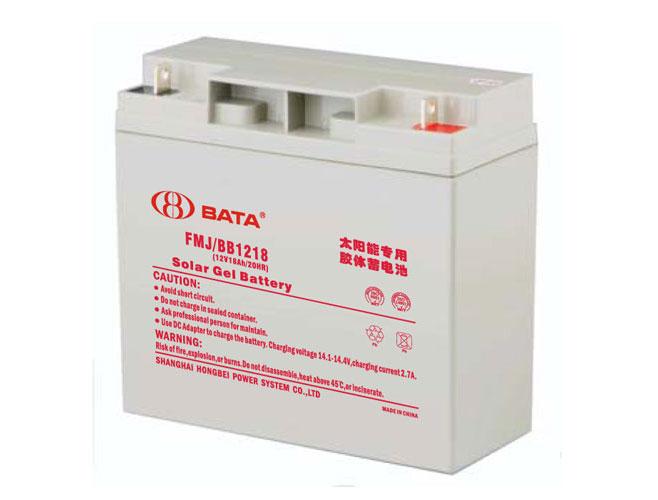 FMJ1218胶体电池