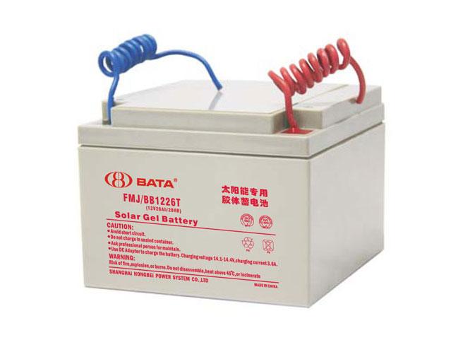 FMJ1226T胶体电池