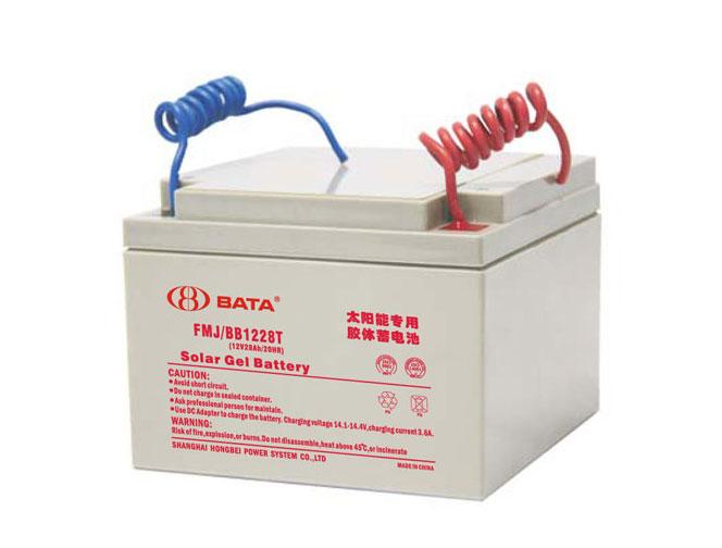 FMJ1228T胶体电池