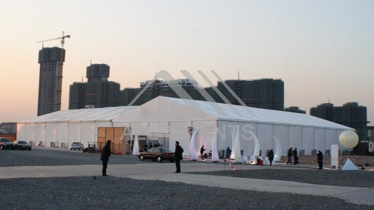 开工篷房、庆典篷房租赁---上海城开(集团)中开城仪式