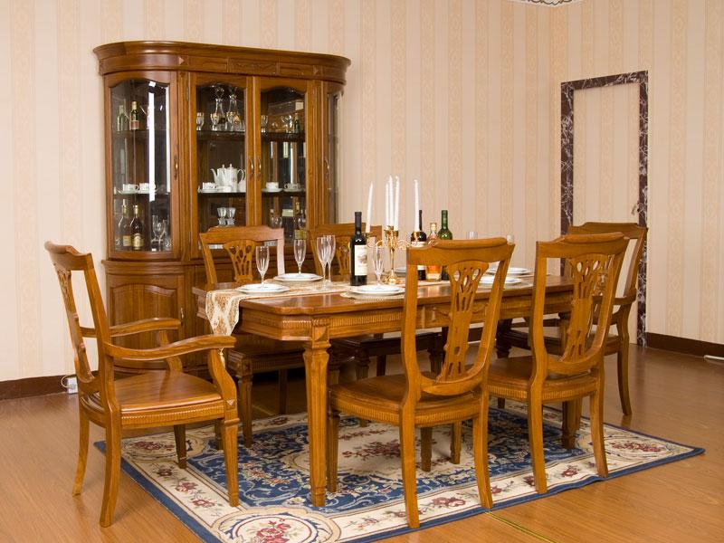JY-188型餐台椅+酒柜