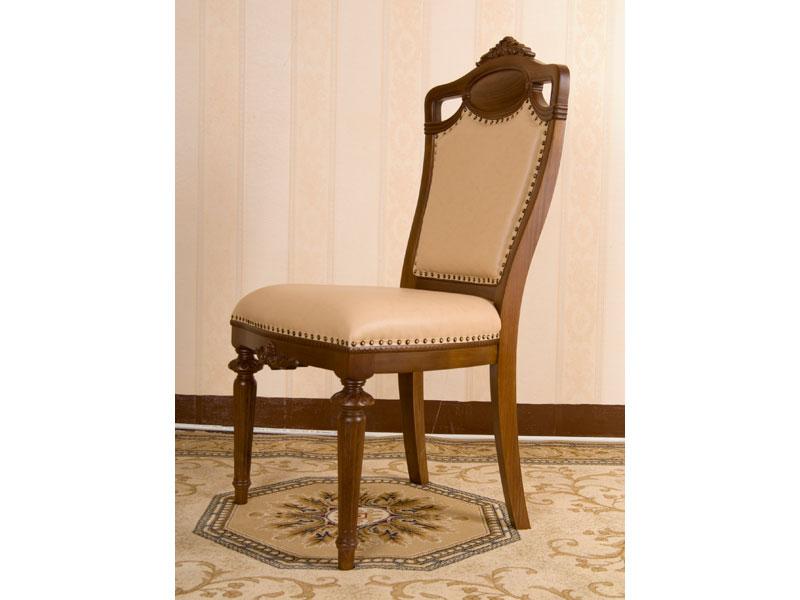 JY-301型308牛皮餐椅