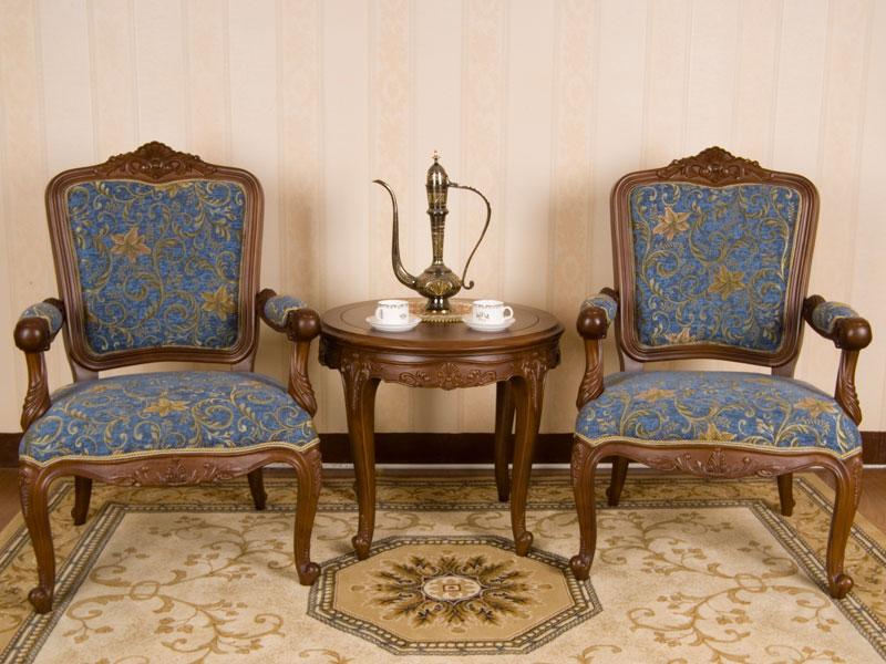 JY-301型布艺扶手沙发椅
