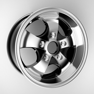 锻造轮毂 Forged Wheel 360