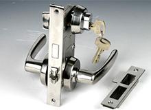 c1长190船用游艇集装箱不锈钢防火门锁,Vessel Fireproof Door Lock,cabin lock(编号10070)
