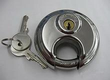 不锈钢圆形拖车锁,连接锁,Coupler Latch Lock,Trailer Lock(编号C0022)