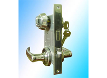 C1-C(长190)双锁头双匙开船用防火门锁,OHS-2320船用锁,Vessel Fireproof Door (编号10087)