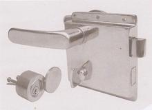 c2-1(长122)带防水盖船用防火门锁,OHS-3550船用锁,船用密封门锁,钢门锁Vessel Fireproof Door Lock(编号10088)
