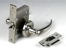 C5,OHS-2110(长140)船用不锈钢过道锁,通道锁,逃生门锁staircase lock(编号10074)