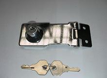 3寸自锁式箱扣型箱柜锁,双门单门橱门锁,Hasp lock(编号20149)