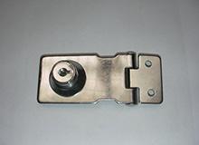 2.5寸自锁式铰链型工具箱锁,展示箱锁,橱柜锁Hasp lock(编号20148)