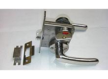 C5-A,OHS-2220(长140)船用盥洗室卫生间防火门锁,船用锁,toilet lock(编号10096)