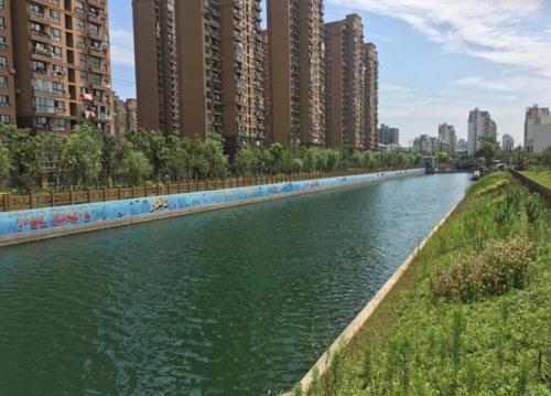 上海市閘北區走馬塘河道整治工程