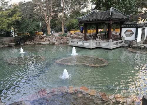 上海市蓬萊公園水體修復工程
