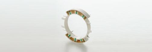 圆形设备的LED元件