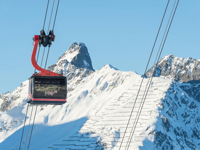 滑雪场的创新电缆概念