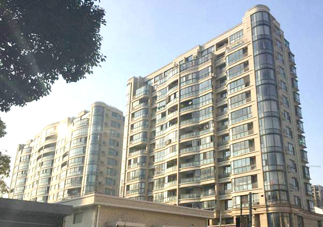 上海锦绣前程 07年9-12月 3万㎡  膨胀聚苯板外墙外保温面砖系统