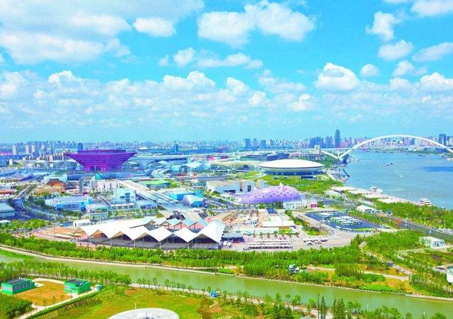 上海世博园区 2010年4月 3万㎡ 膨胀聚苯板外墙外保温涂料系统