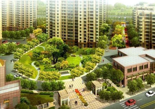 上海盛世宝邸 08-09年 26万㎡ FB膨胀聚苯板外墙外保温面砖系统