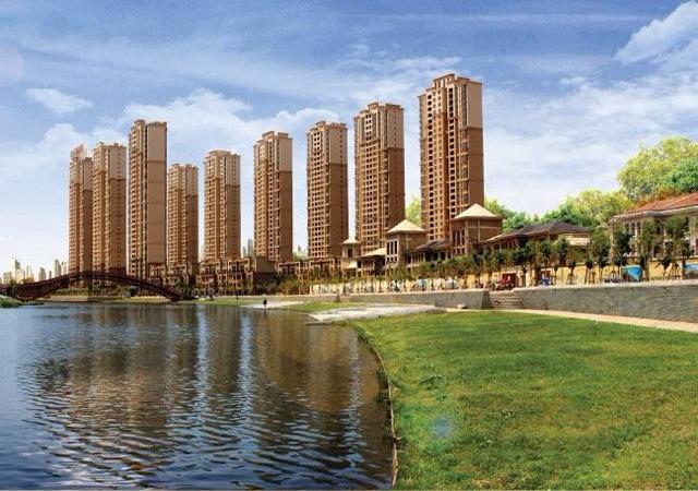 苏州中海国际社区 2009年7月 60万㎡ EPS、XPS板,石膏板内保温、外墙外保温涂料系统