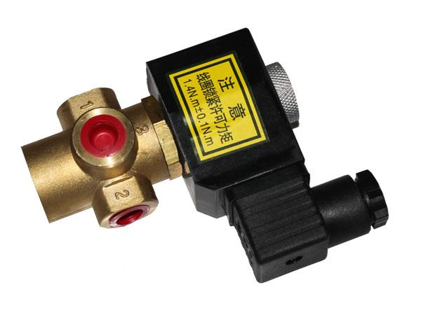 qy23d-2k二位三通常闭式电磁阀