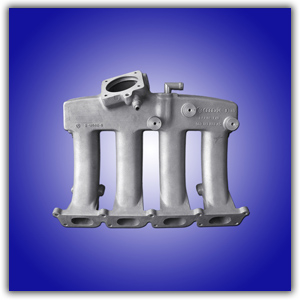 汽油机进气管结构示意图