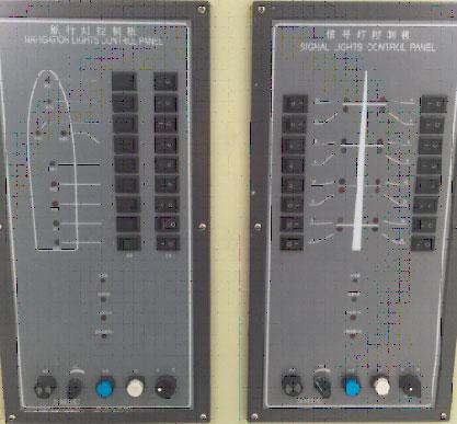 学生通过调试查找故障,然后排除故障,提高学生对船舶航行信号灯系统常