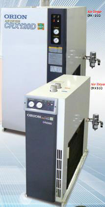 Medium and small refrigerated air dryers (standard air type)