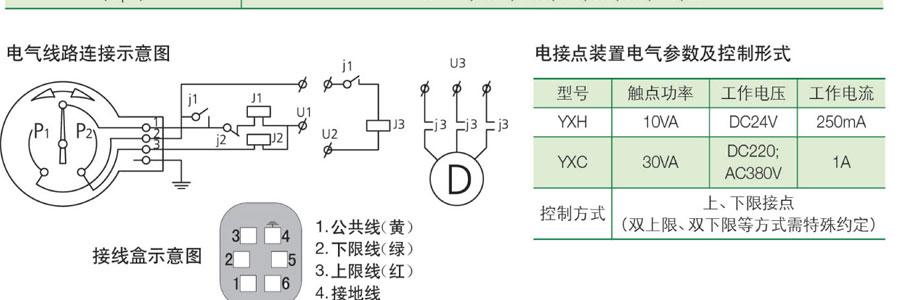 上海天川电接压力表接线图