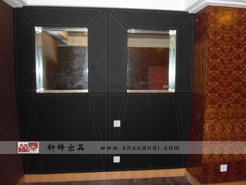 木工凹凸墙框造型