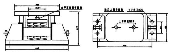 dzt型系列大载荷阻尼弹簧隔振器