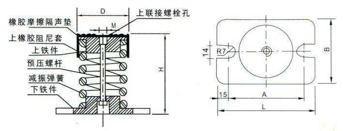 弹簧分离机电路示意图