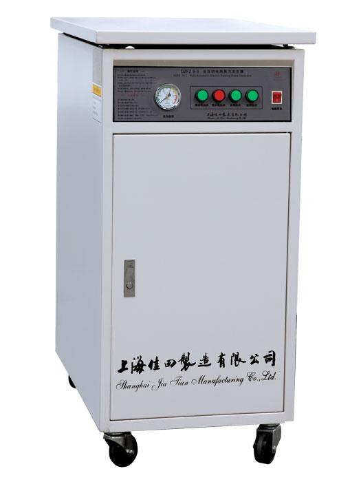 本系列电加热蒸汽发生器设计制造、检验按企业标准Q/AN PV02《电加热蒸汽发生器》执行,本体采用优质锅炉钢制成,给水泵采用压力大、噪声低的漩涡泵。炉内水箱设有水位控制,加热、加水自动转换。该系列产品体积小、热效率高、安装使用方便。
