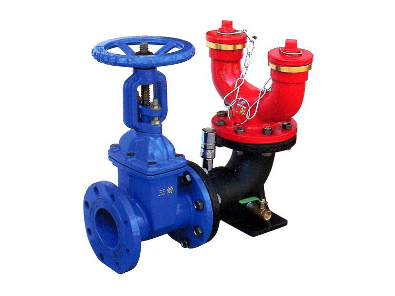 其中多用式消防水泵接合器具有体积小,外型美观,结构合理,维护方便等图片